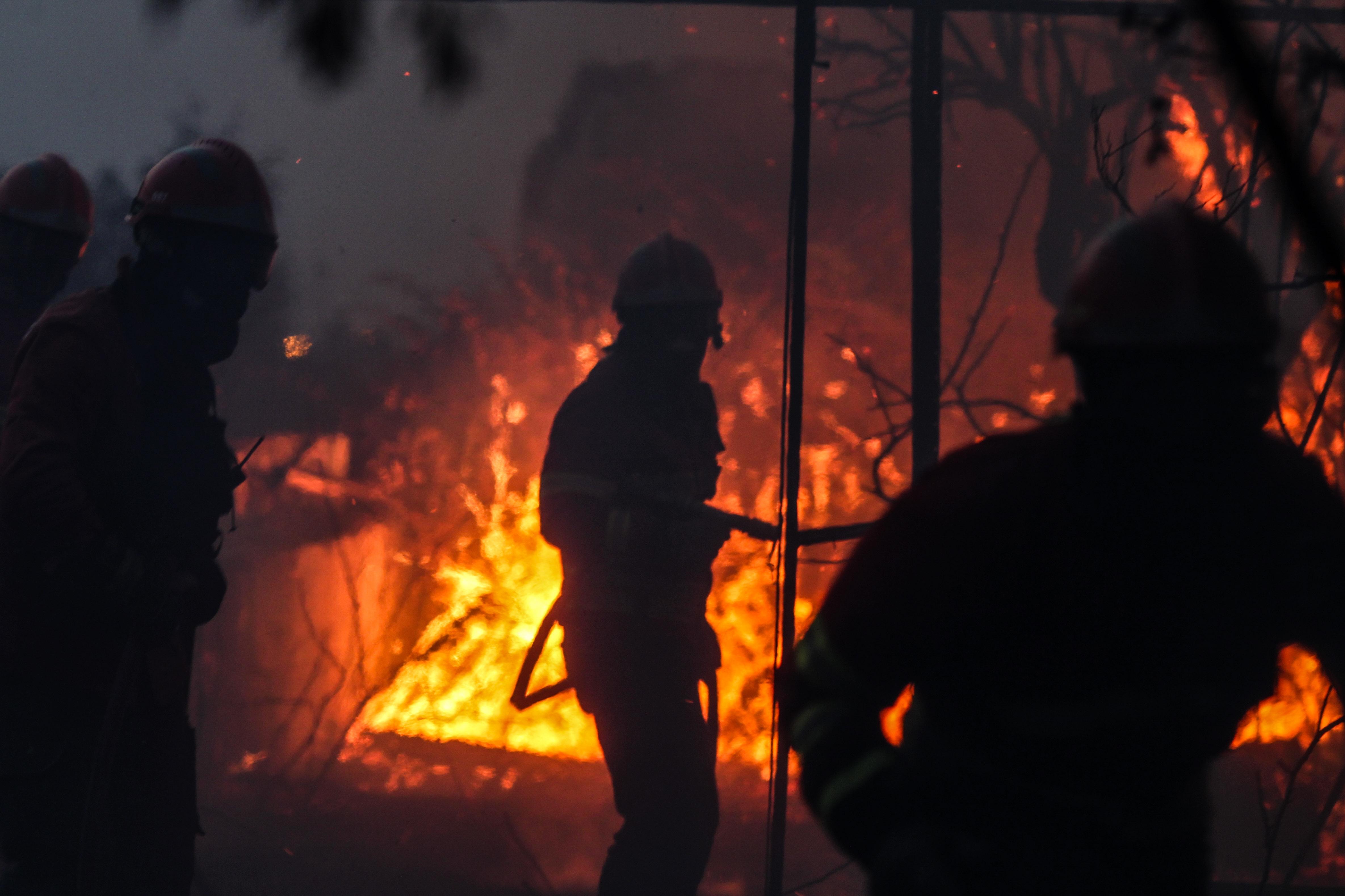 Chamas acalmam em Mação, mas fogo mantém duas frentes ativas — Incêndios