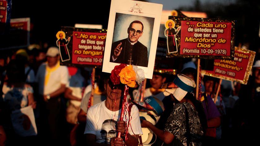 Óscar Romero vai ser canonizado este domingo. Foto: Jose Cabezas/Reuters