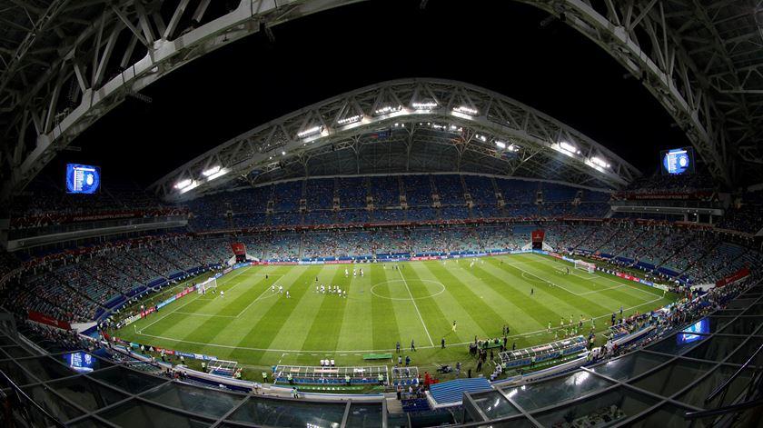 Estádio Fisht. Conheça o palco da estreia de Portugal no Mundial