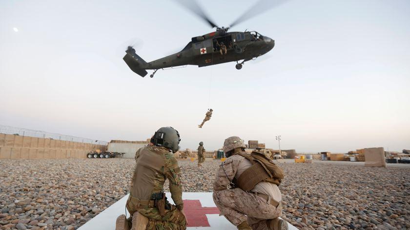 Imagem de arquivo das forças dos EUA em Helmand. Foto: Omar Sobhani/Reuters