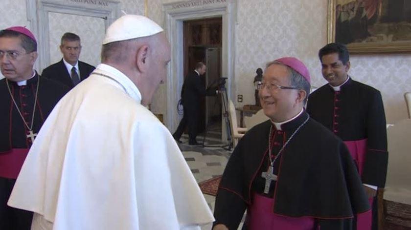Papa Francisco pede a líderes religiosos sul-coreanos que promovam a paz