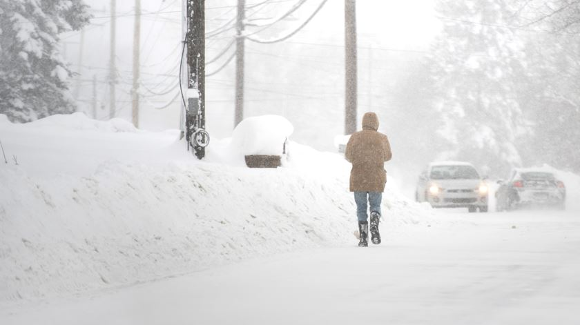 Onda de frio recorde assola os Estados Unidos