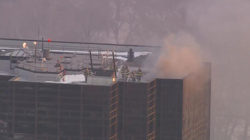 Incêndio na Trump Tower, em Nova Iorque