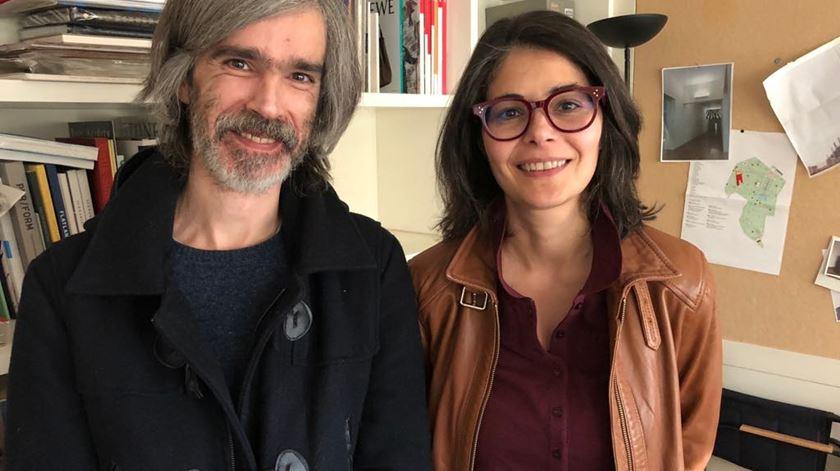 Serralves com Ricardo Nicolau e Denise Polini