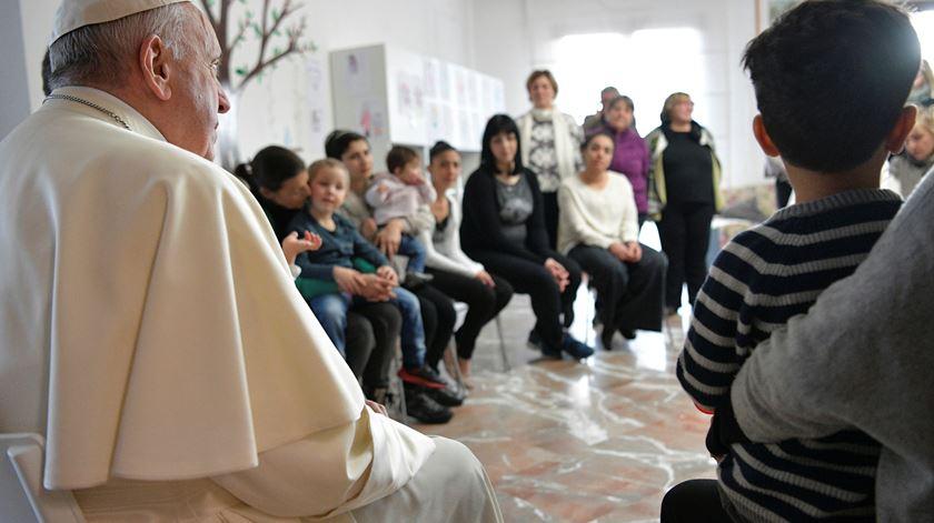 """Papa alerta para o perigo de usar a solidariedade para """"benefício privado"""""""