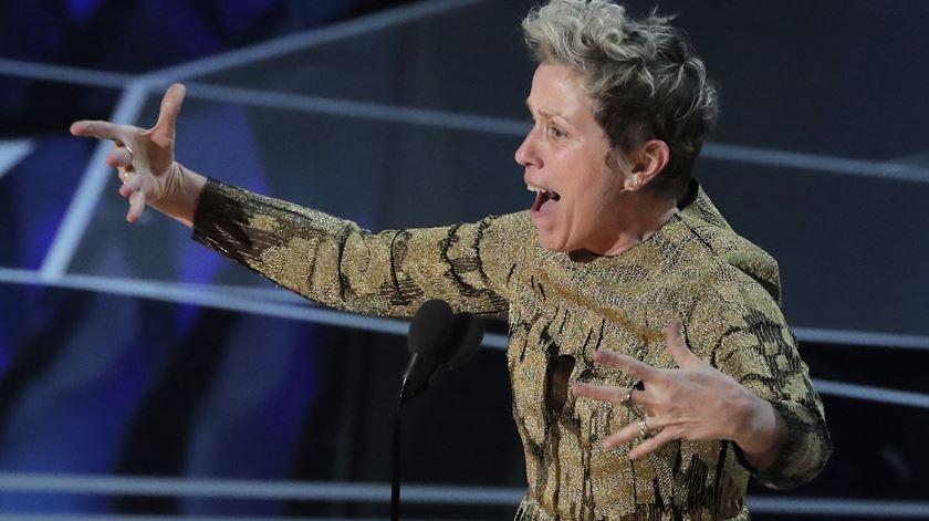 A cavaleira da inclusão. Como Frances McDormand levantou toda a plateia feminina