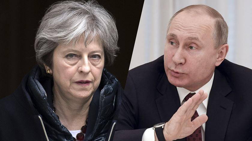 Escalada de tensões entre Londres e Moscovo alastra-se à Europa