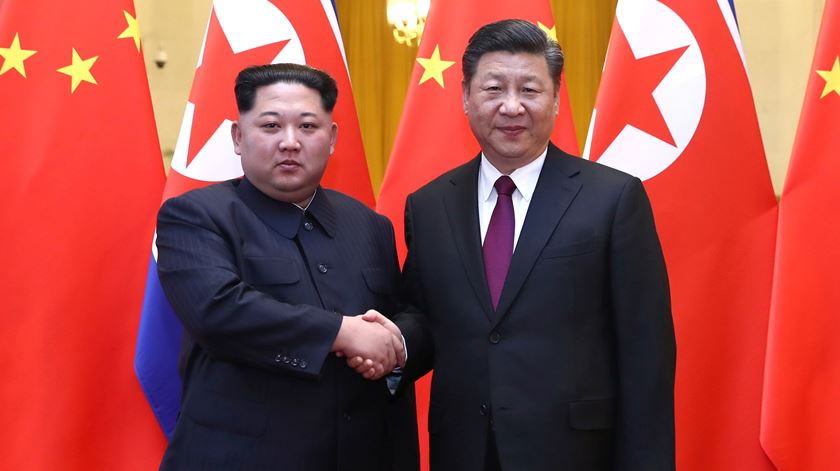 O líder da Coreia do Norte está mesmo na China