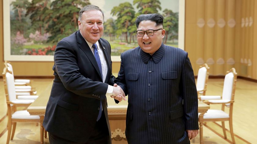 Coreia do Norte recusa negociar com Pompeo