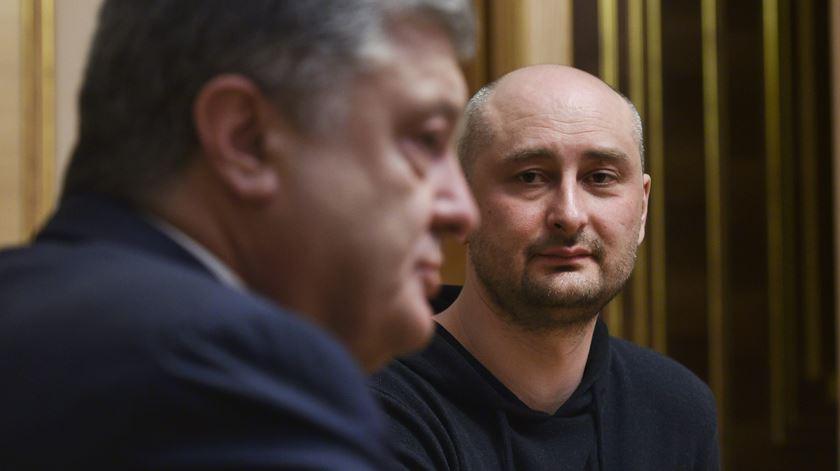 """Babchenko fingiu morrer para focar atenções em Putin. Repórteres Sem Fronteiras consideram """"lamentável"""""""
