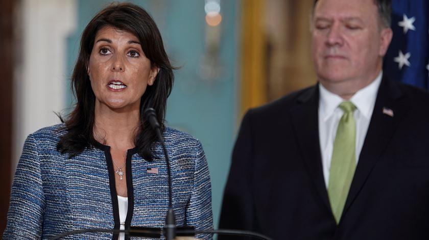 """EUA saem do Conselho de Direitos Humanos da ONU que """"faz troça da raça humana"""""""