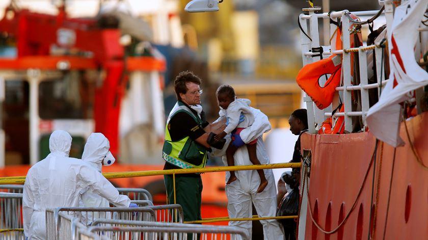 Português que salvou migrantes acusado de imigração ilegal