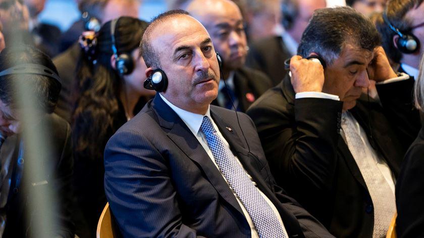 Mevlut Cavusoglu, ministro dos Negócios Estrangeiros de Erdogan. Foto: Reuters