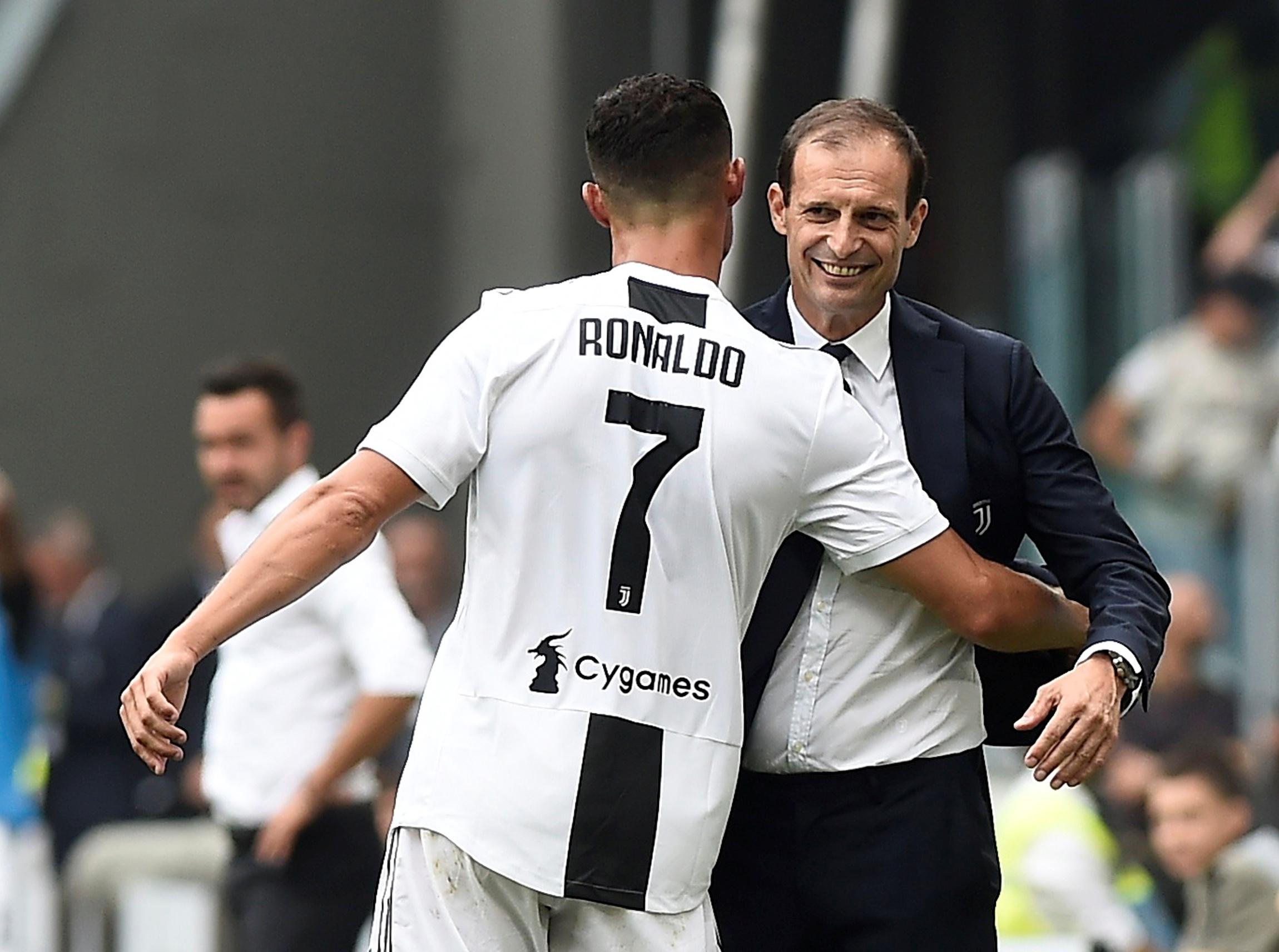 86a81b0051 A dupla Allegri e Ronaldo tem dado certo na Juventus. Foto  Massimo  Pinca Reuters
