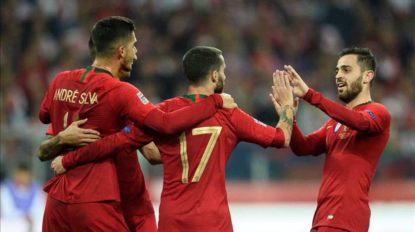 "Portugal inicia 2019 no sexto lugar do ""ranking"" da FIFA"