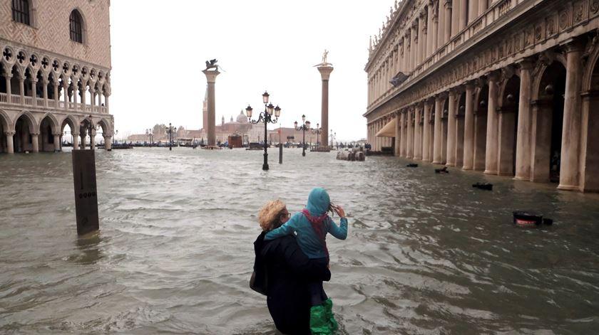 Mau tempo em Itália faz vários mortos