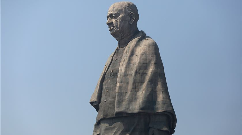 A maior estátua do mundo fica na Índia