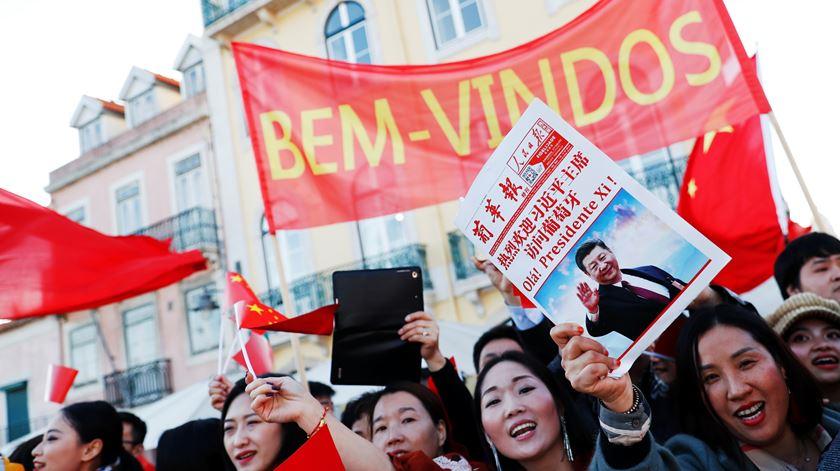 Fotogaleria. As imagens do primeiro dia da visita de Xi Jinping a Portugal