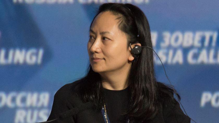 Wanzhou Meng, diretora financeira empresa chinesa Huawei, detida no Canadá. Foto: Alexander Bibik/Reuters
