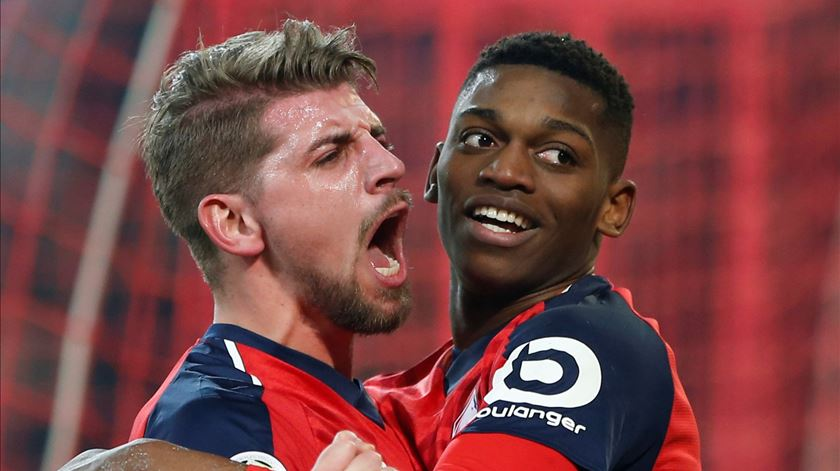 Lille cimenta segundo lugar às costas de Rafael Leão e Xeka