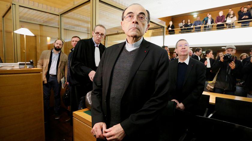 Cardeal Philippe Barbarin, arcebispo de Lyon. Foto: Emmanuel Foudrot/Reuters