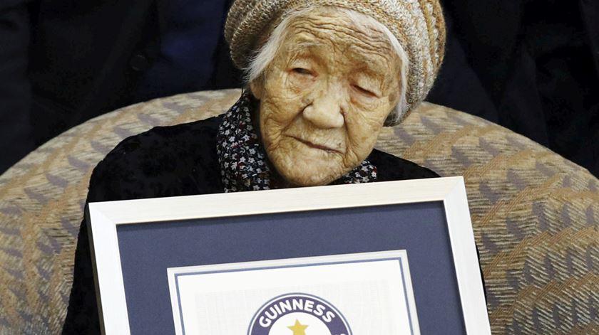 Com 116 anos, Kane Tanaka é a mulher mais velha do mundo