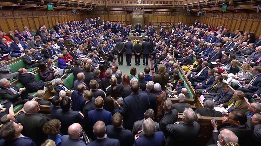 Deputados rejeitaram segundo referendo ao Brexit. Foto: Reuters