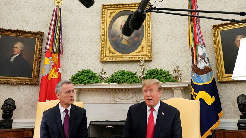 Congresso e administração americana fazem profissão de fé na NATO, apesar de Trump