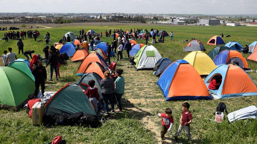 Mais de 74.000 refugiados chegaram à Grécia em 2019