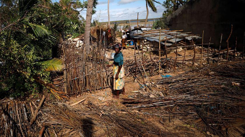 Há 190 mil pessoas em risco de doença em Moçambique, alerta OMS