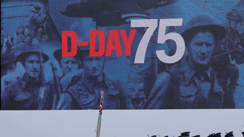 Portsmouth foi a cidade escolhida para marcar o 75.º aniversário do Dia D. Foto: Carlos Barria/Reuters