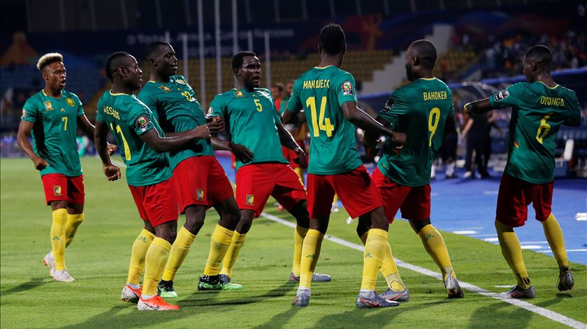 Guiné-Bissau perde com os campeões Camarões