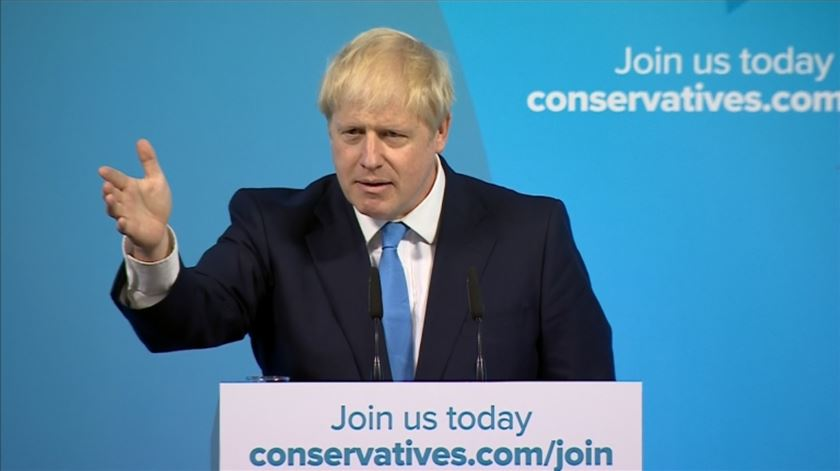 Boris Johnson vai ser primeiro-ministro do Reino Unido. ""