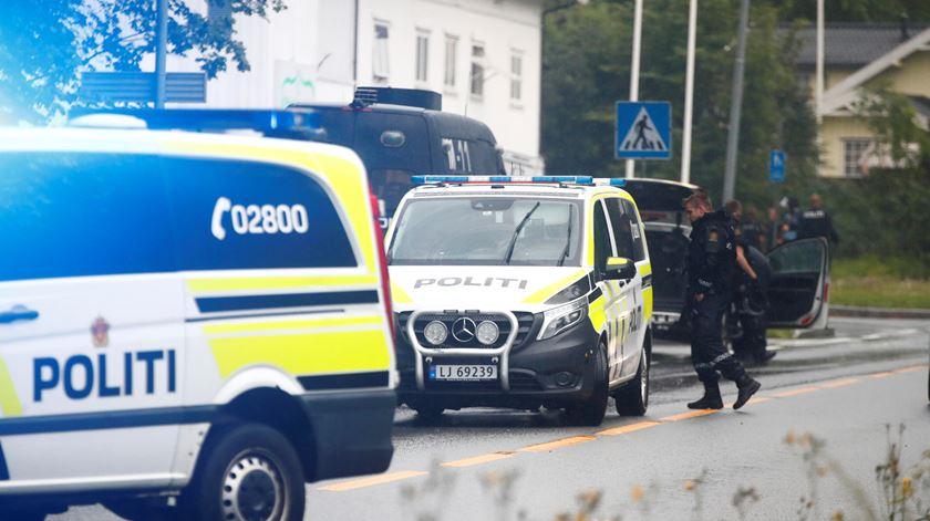 Tiroteio em mesquita na Noruega faz um ferido