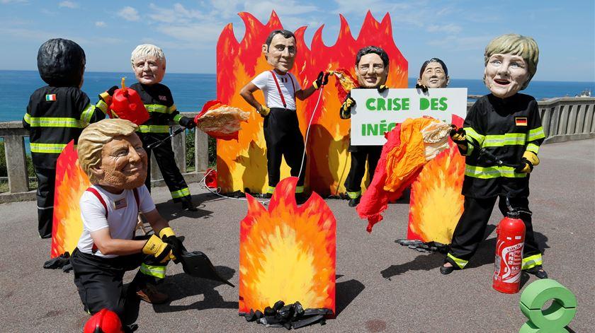 Amazónia, líderes imprevisíveis e protestos. O que esperar da Cimeira do G7