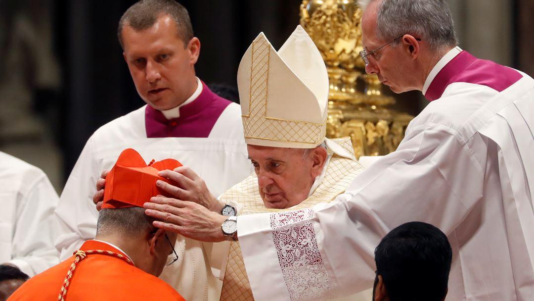 D. José Tolentino Mendonça foi criado cardeal-diácono, recebendo a igreja de São Jerónimo da Caridade.