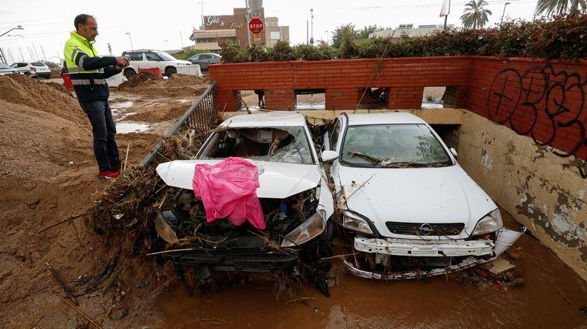 Chuvas fortes na Catalunha. 16 mil pessoas continuam sem energia elétrica