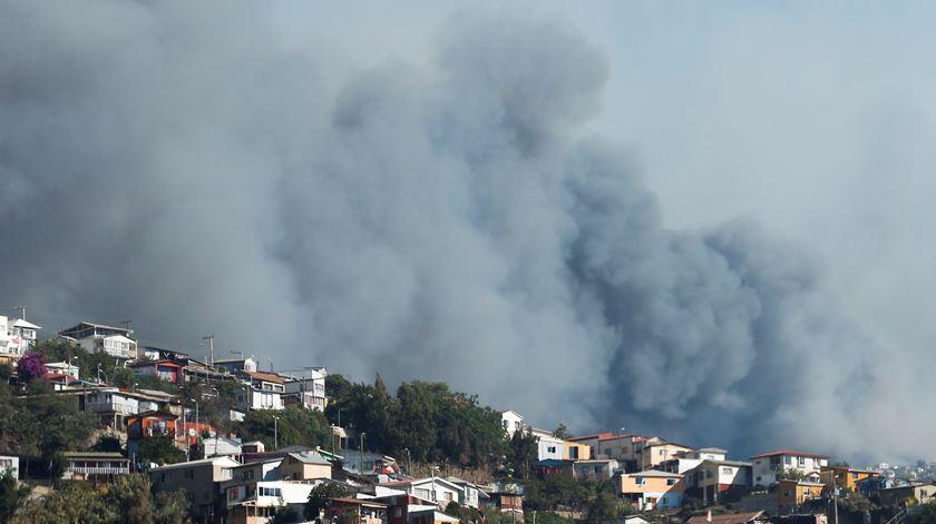 Homem detido em Tondela por atear seis focos de incêndio