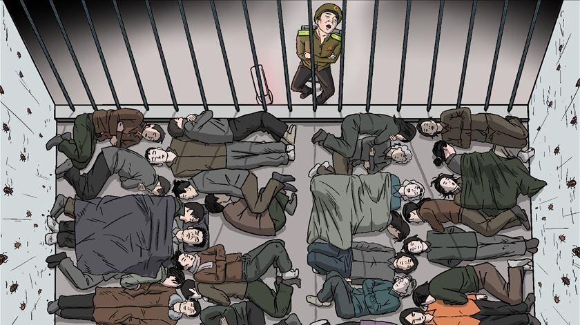 """Relatório descreve tortura. Coreia do Norte """"trata detidos abaixo de animais"""""""