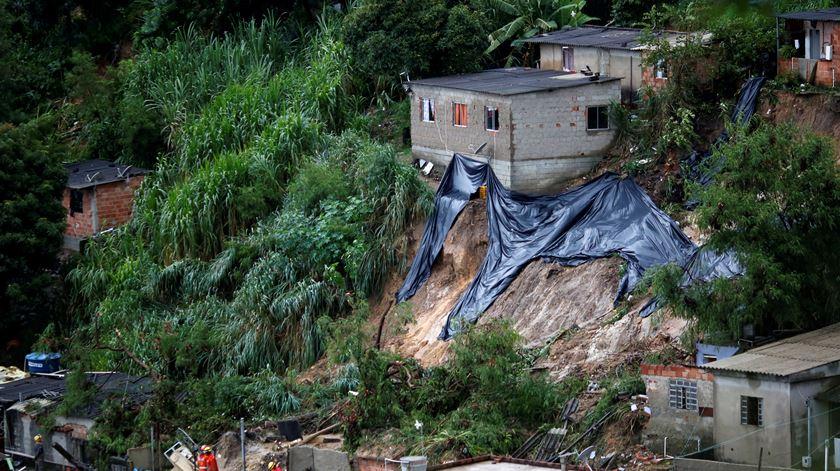Brasil. Mau tempo faz 34 mortos em Minas Gerais