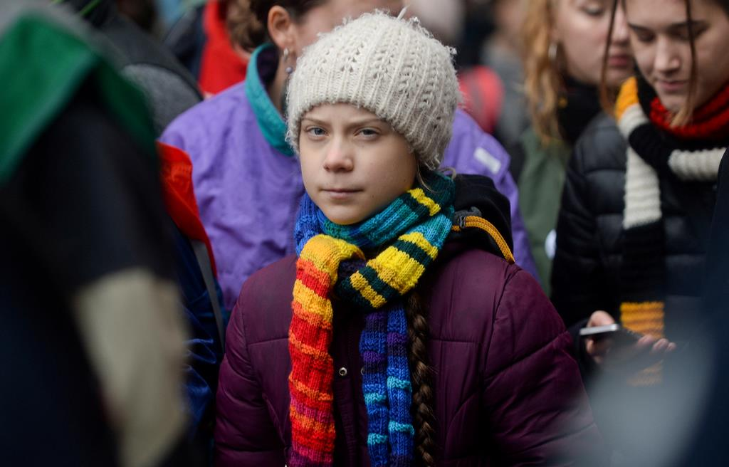 Greta Thunberg. Foto: Johanna Geron/Reuters