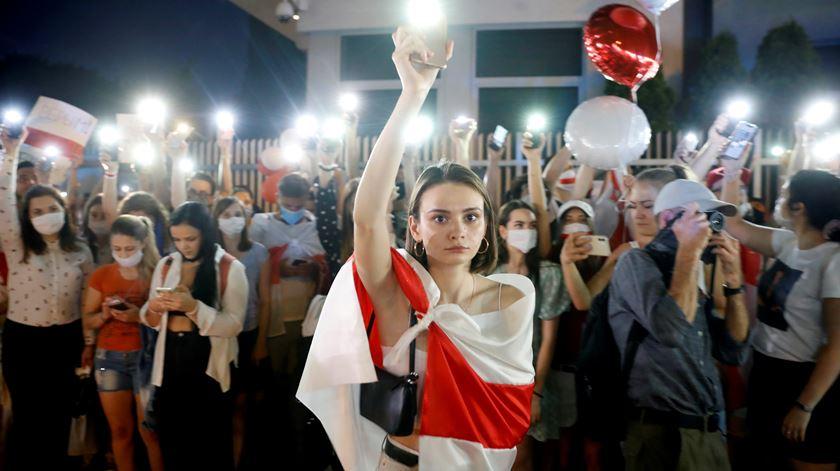 """Bielorrússia e a luta por eleições honestas. """"Nunca vamos esquecer o que nos fizeram. Estamos fartos de ter medo"""""""