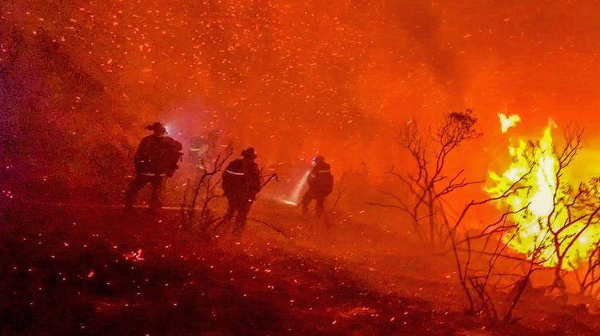 Incêndios na Califórnia. Batido recorde de área ardida em 33 anos