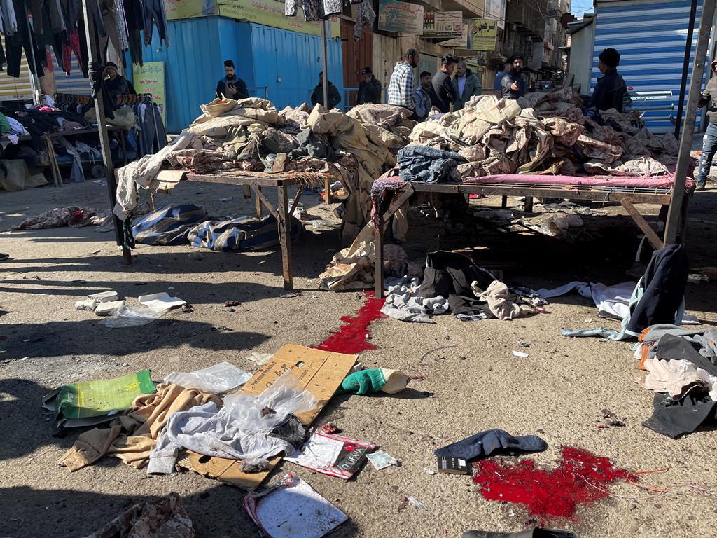 Ministério do Interior iraquiano diz que se espera que o número de mortes aumente nas próximas horas. Foto: Thaier al-Sudani/Reuters
