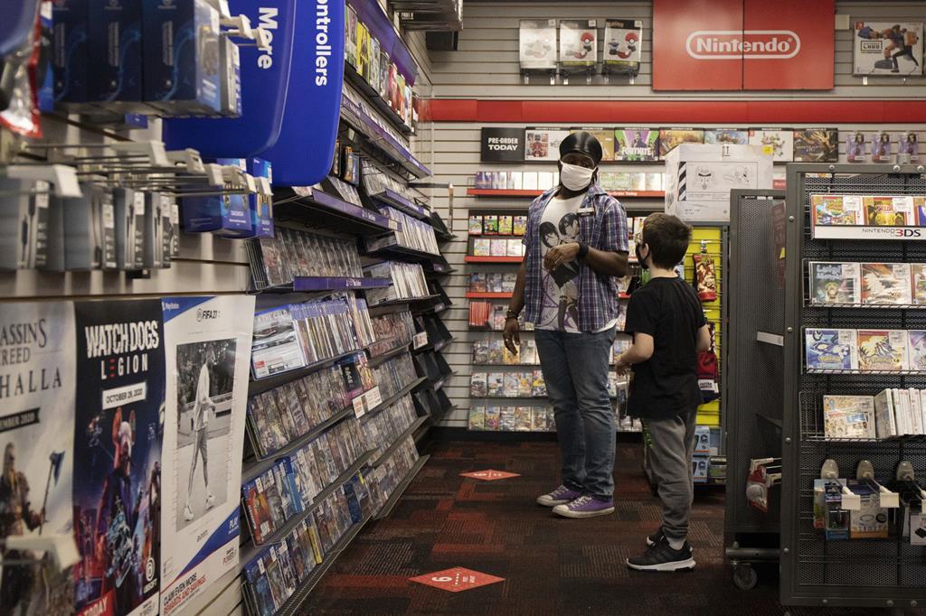A GameStop está com a atividade em queda por causa da pandemia, mas no mercado de valores não poderia estar a subir mais.  Foto: Reuters