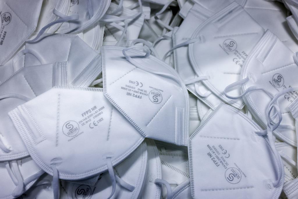 ASAE apreende milhões de máscaras com defeito. Foto: Reuters