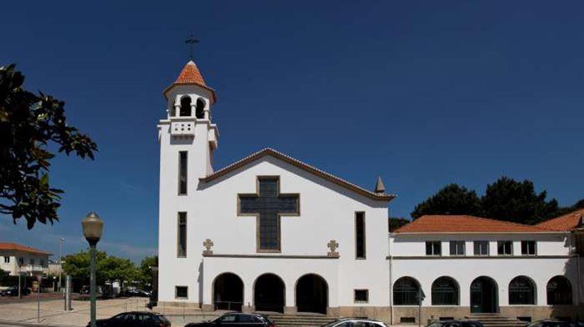 """Igreja de Cristo Rei, no Porto, a """"casa"""" de frei bernardo. Foto: Facebook"""