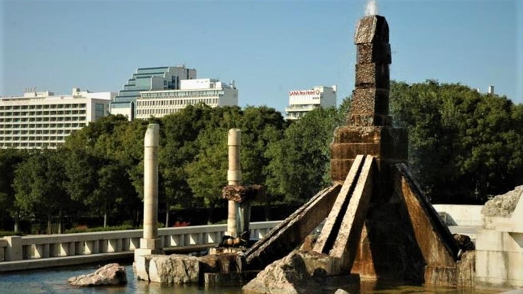 Monumento ao 25 de Abril, no Parque Eduardo VII. Foto: DR