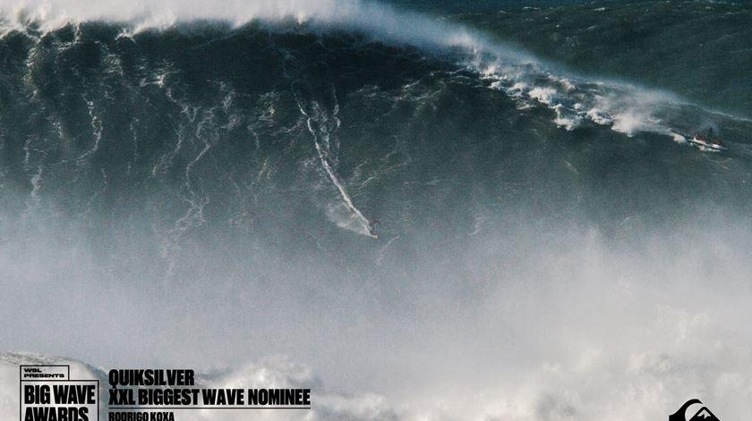 Maior onda do mundo. Os surfistas mudam, a Nazaré mantém-se