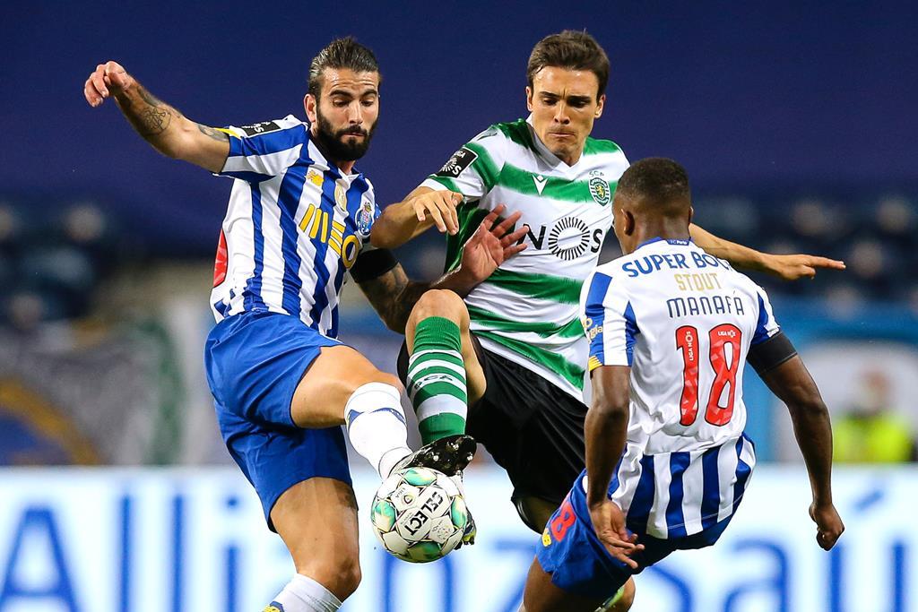 Tempo útil de jogo da Liga portuguesa é inferior ao das principais competições da Europa Foto: José Coelho/EPA